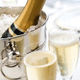 1/2 bouteille de Champagne pour votre espace privatif .