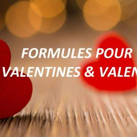 «FORMULE Valentins Détente» SPA DE 2H 2PERS +1BTLE CHAMPAGNE & GOURMANDISES