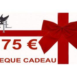CHEQUE CADEAU 75€